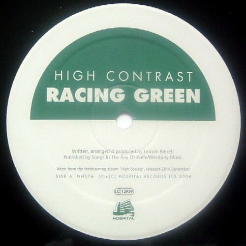 Download High Contrast - Racing Green / St. Ives mp3