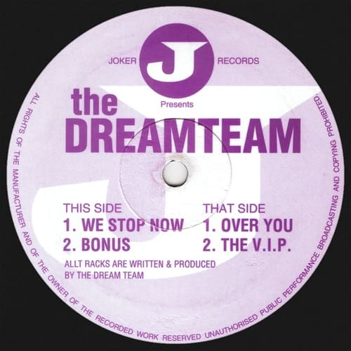 Download The Dreamteam - We Stop Now mp3