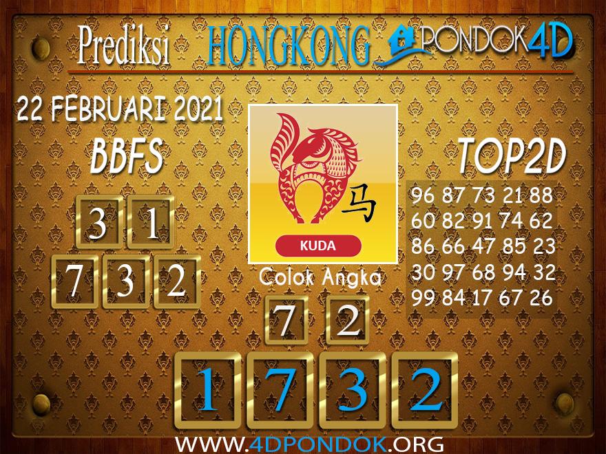Prediksi Togel HONGKONG PONDOK4D 22 FEBRUARI 2021