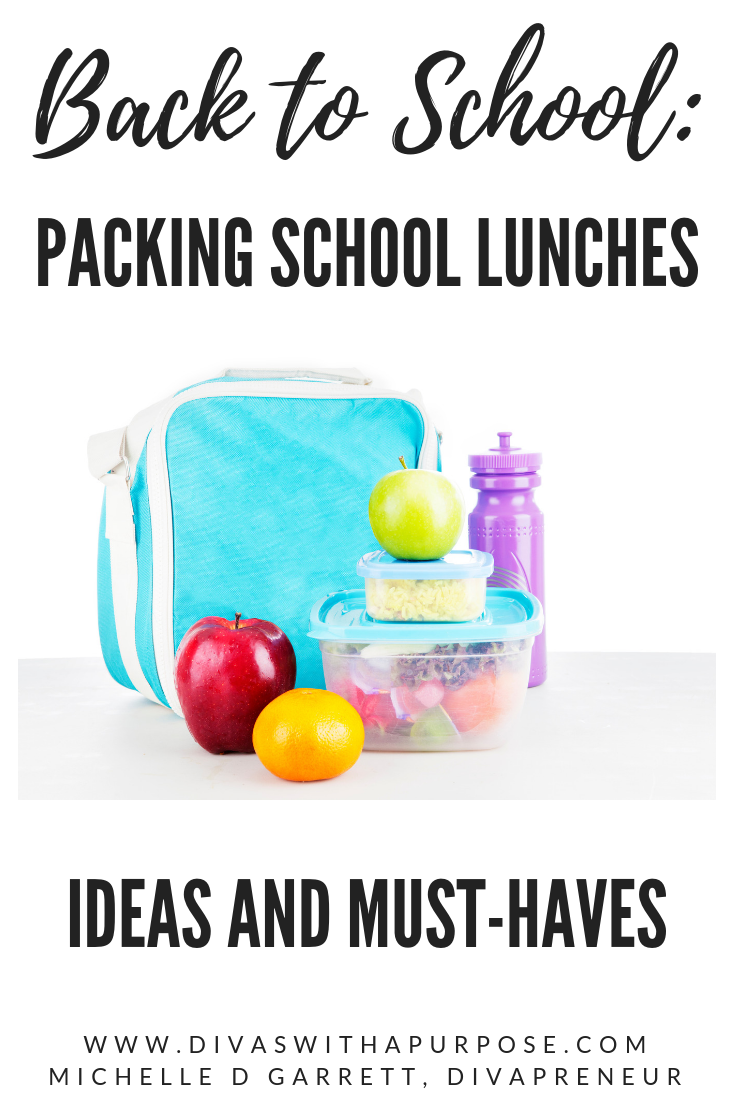 1o ideas for school lunches and must-haves to make packing them easier and more efficient. #backtoschool #lunchboxideas