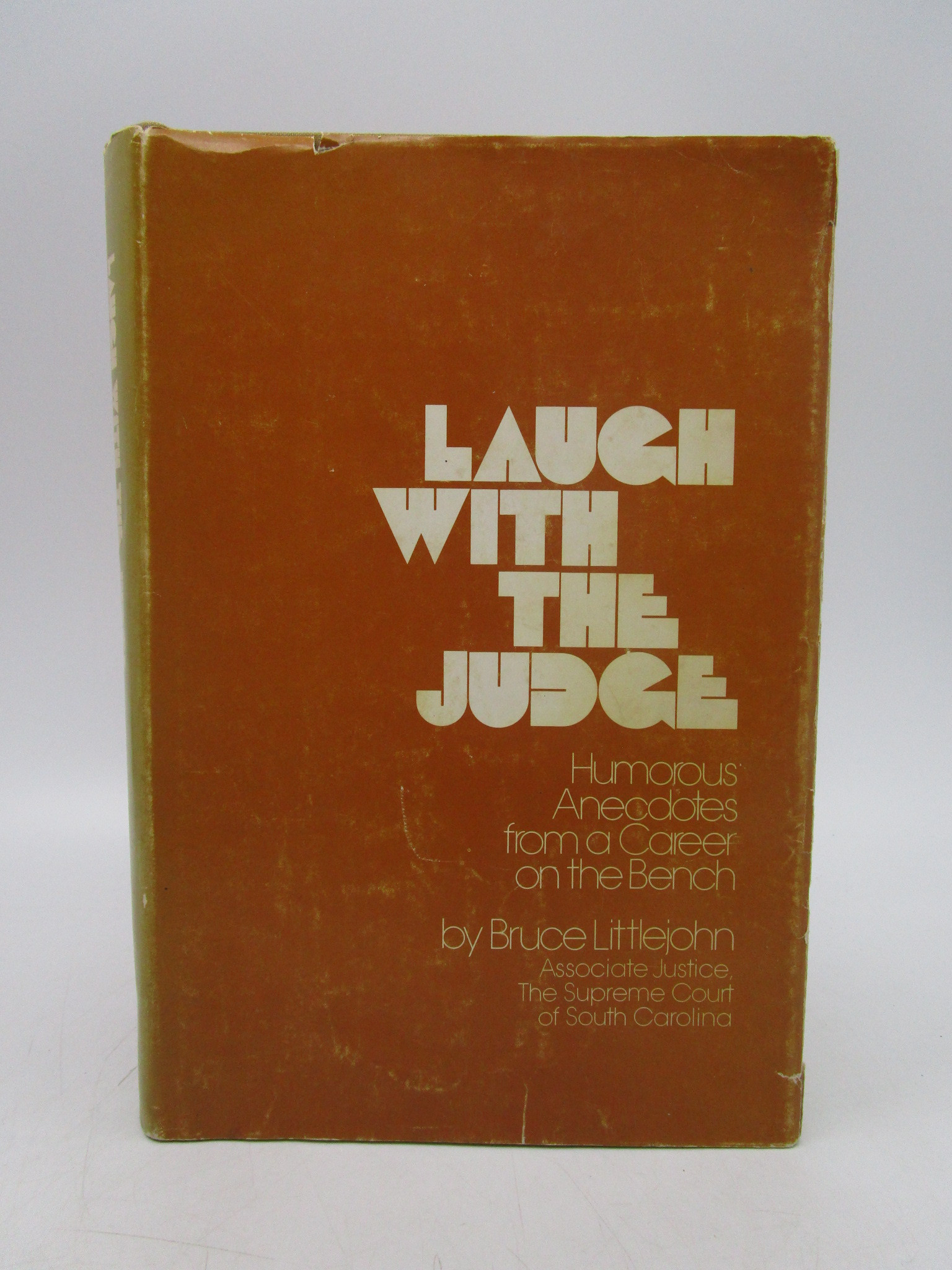 Image for Laugh With the Judge (Signed)