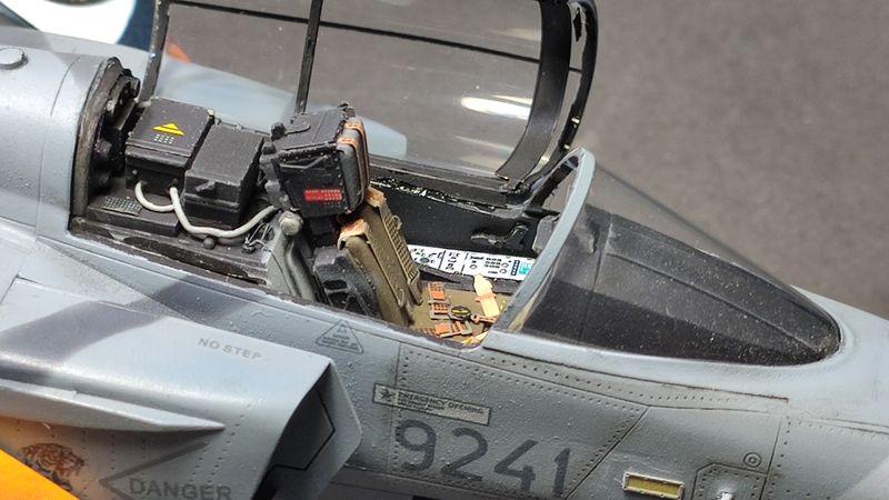 """MT: Jas-39C Gripen """"Wild Tiger"""" NTM 2017 Kitty Hawk 1/48 IMG-20200209-195027"""