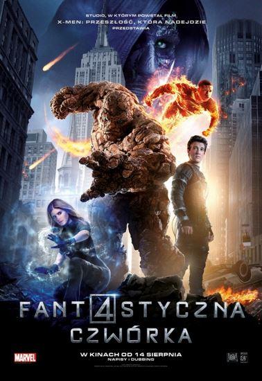 Fantastyczna Czwórka / Fantastic Four (2015) PL.BRRip.XviD-GR4PE | Lektor PL