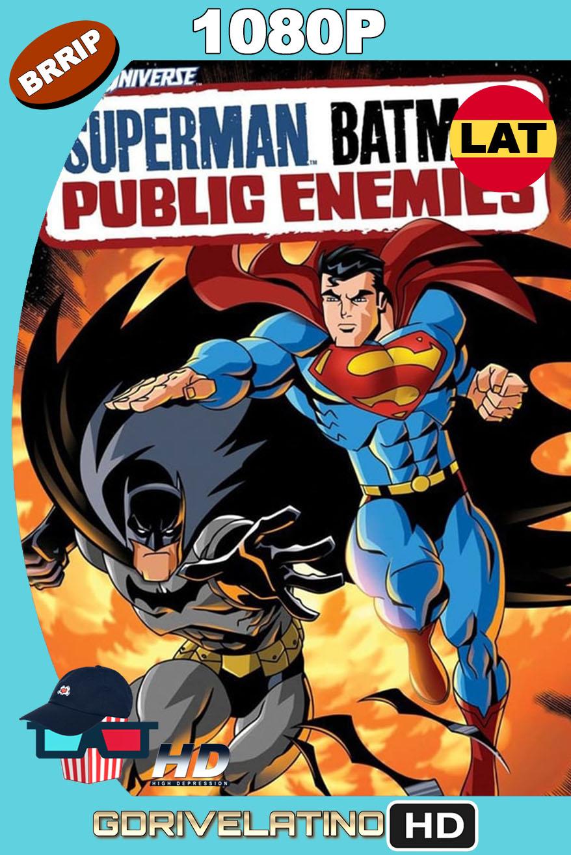 Superman/Batman: Enemigos Públicos (2009) BRRip 1080p Latino-Inglés MKV