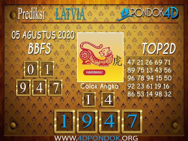 Prediksi Togel LATVIA POOLS PONDOK4D 05 AGUSTUS 2020