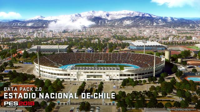 PES2018 DP2 Estadio Nacional de Chile 01