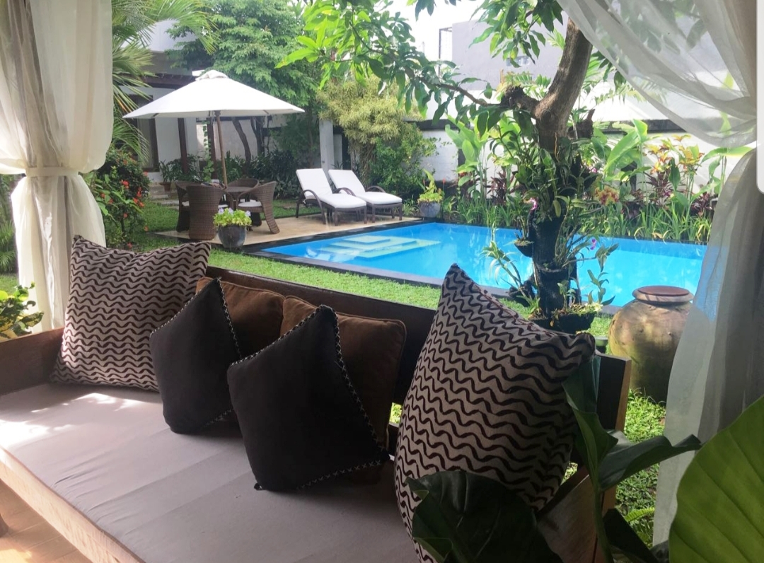PRETTY NICE VILLA -- AVAILABLE FOR YEARLY RENT IN UMALAS - BALI