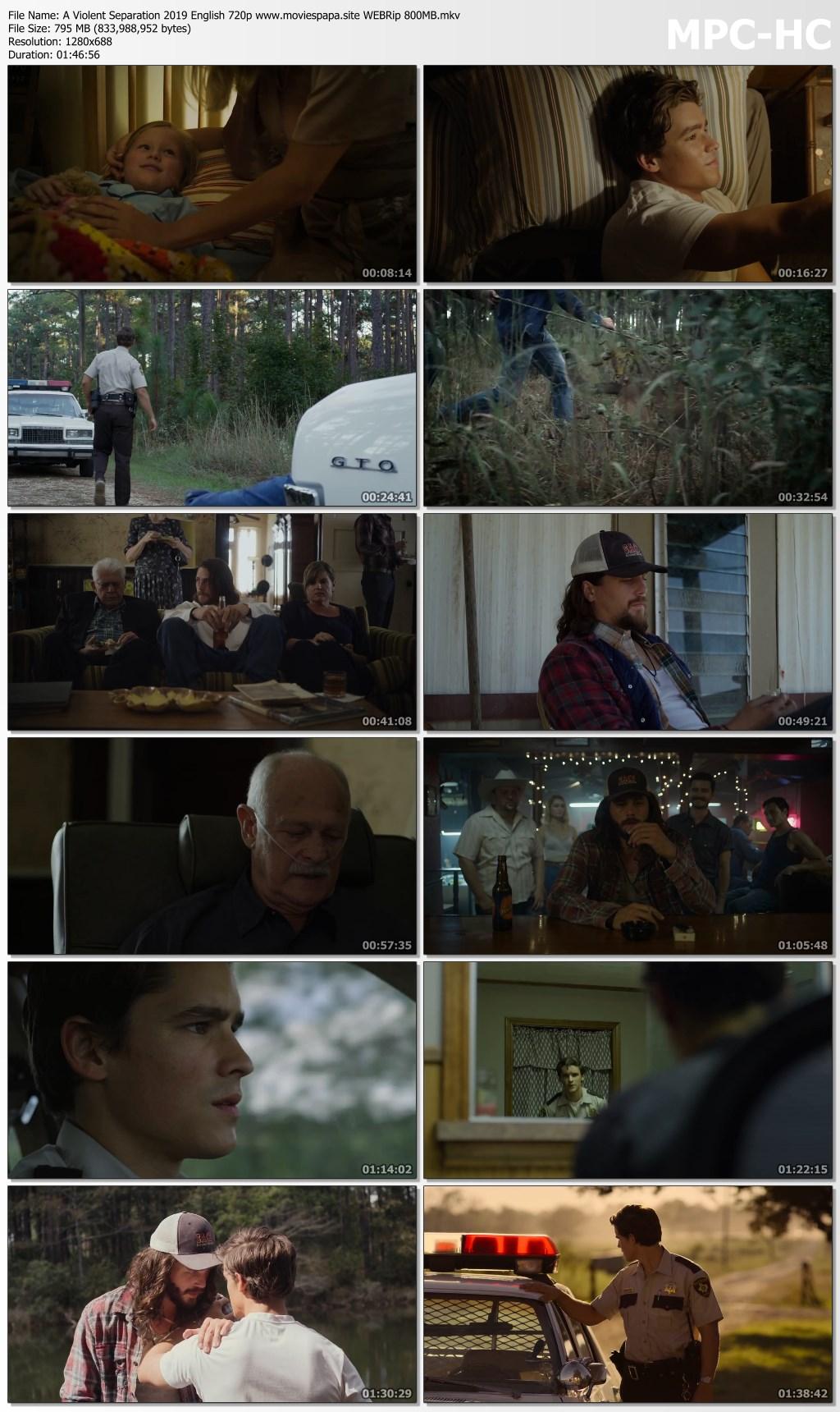 A Violent Separation 2019 English 720p HDRip Movie Download