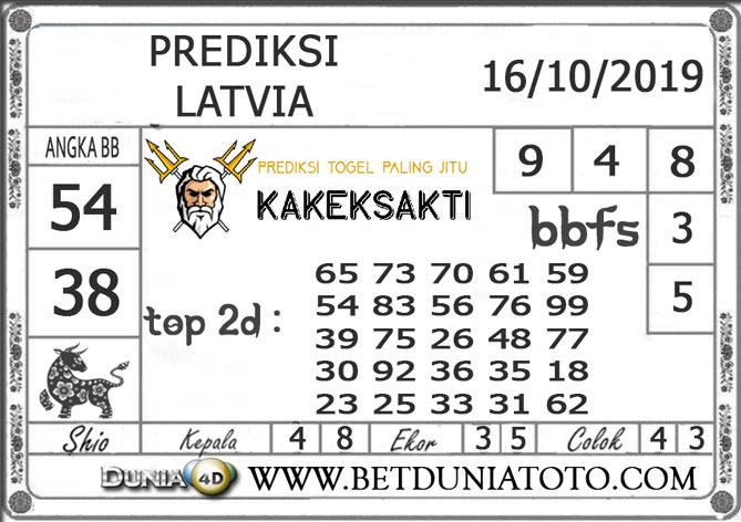 """Prediksi Togel """"LATVIA"""" DUNIA4D 16 OKTOBER 2019"""
