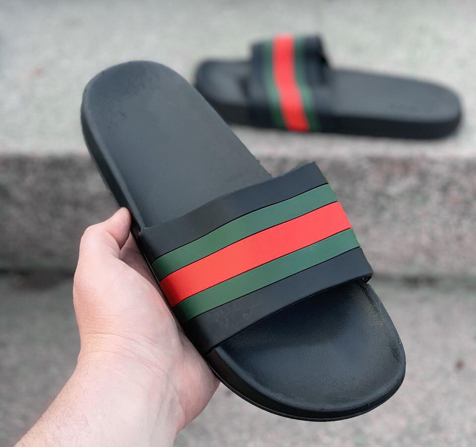 Мужские шлепанцы Gucci