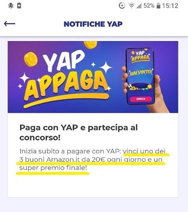 YAP L'App gratuita che ti restituisce denaro! CASHBACK RESTITUZIONE DENARO SU USO CONTO! 2019-Set-28-Promo-Amazon-Yapr