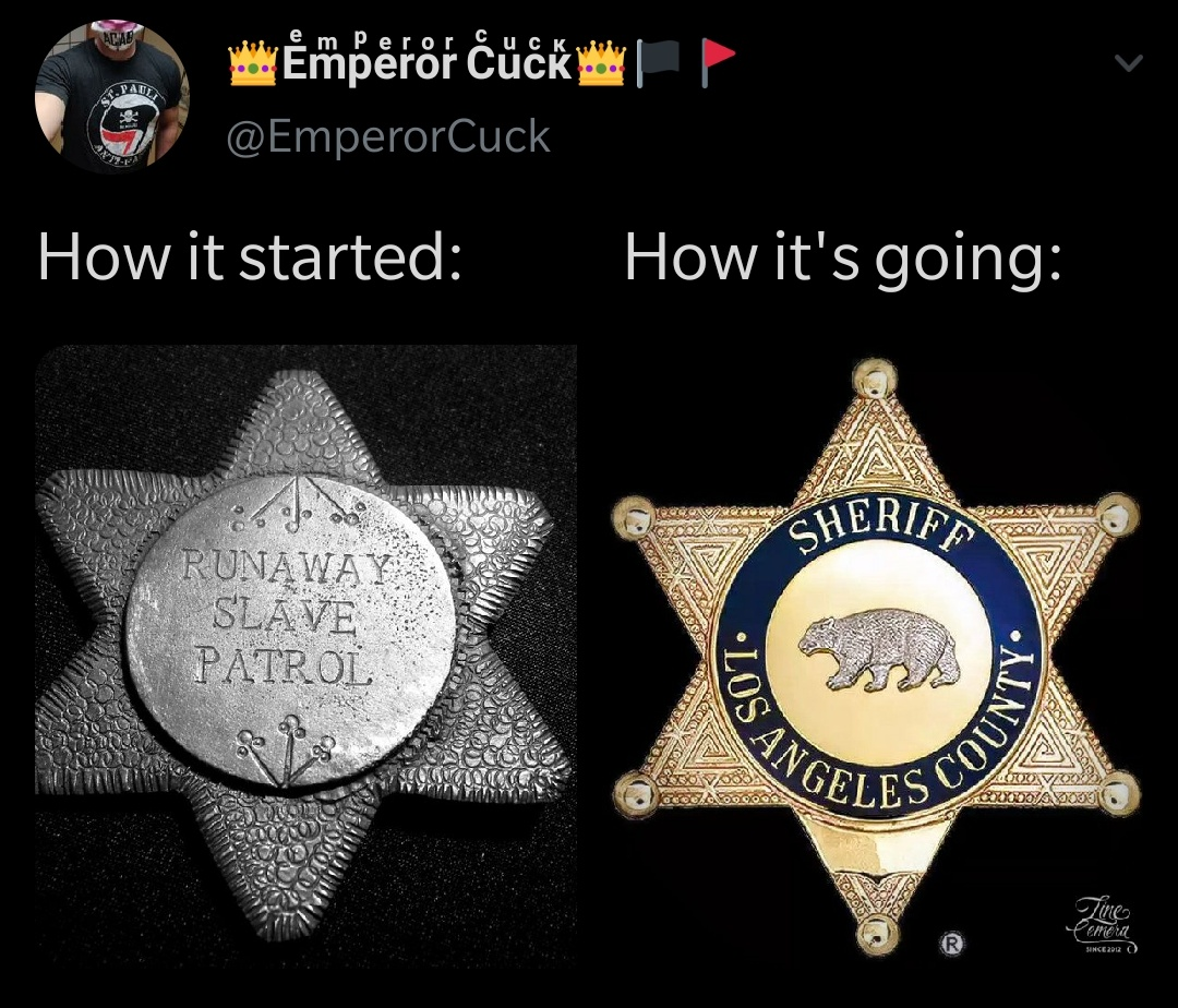 Police Have Always Been Slave Patrol, They Just Rebranded
