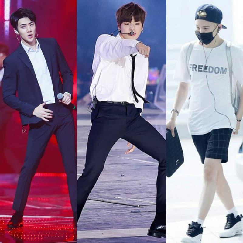 9 nam idol có đôi chân đẹp nhất Kpop khiến các fan mê mệt
