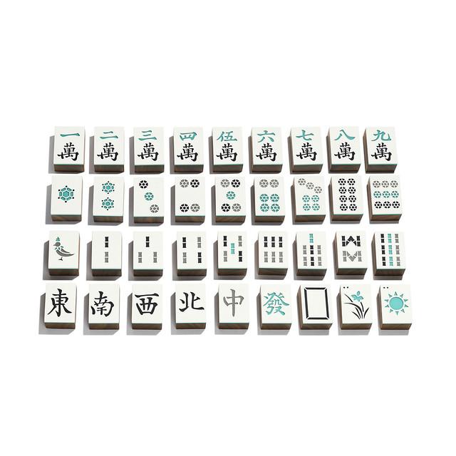 Tiffany推出多種精美經典遊戲組後,這次也設計了價值15,000美金的麻將組 67535820-1018169-AV-3