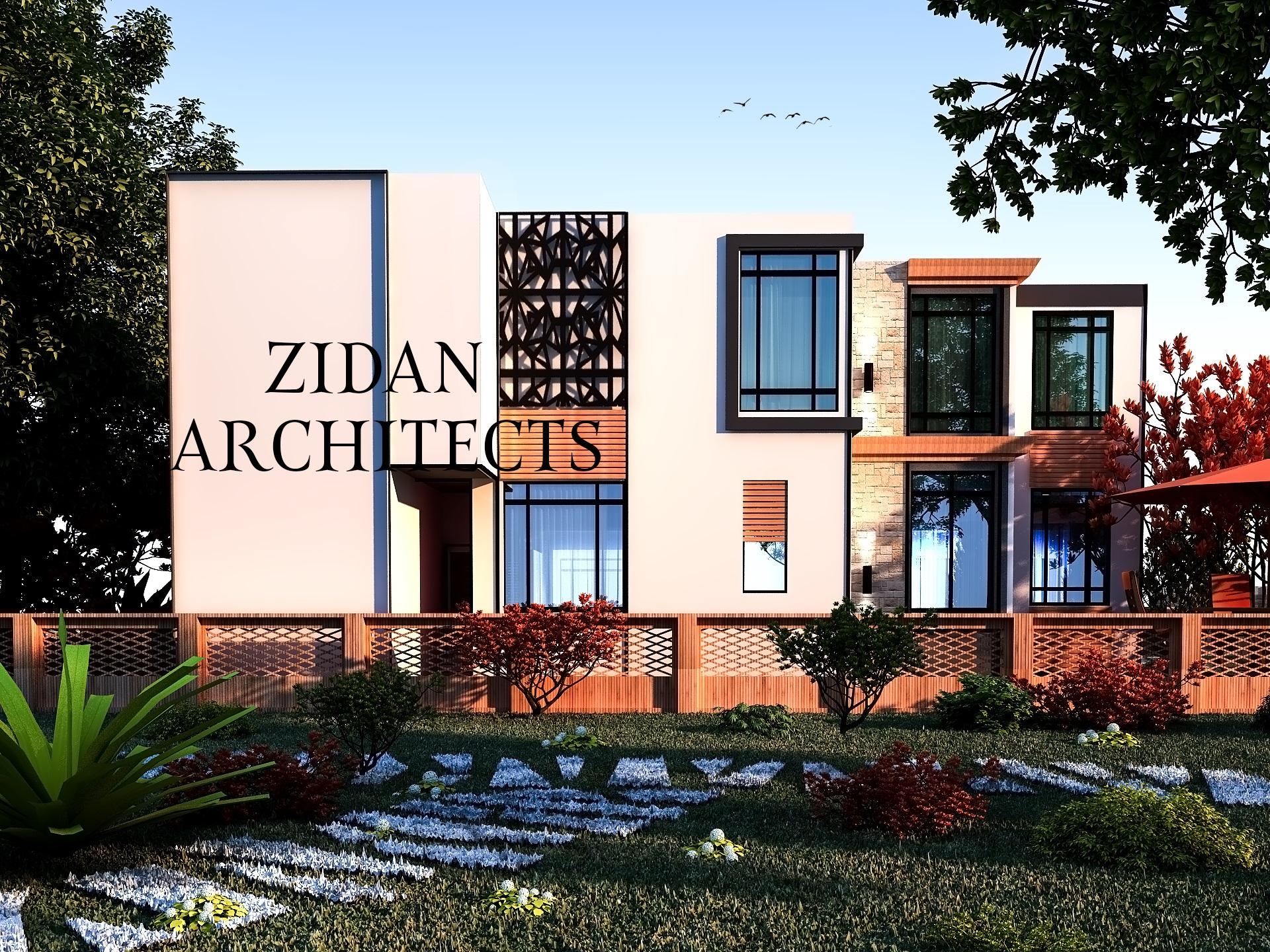 Zidan architects المعماري المميز مهند زيدان