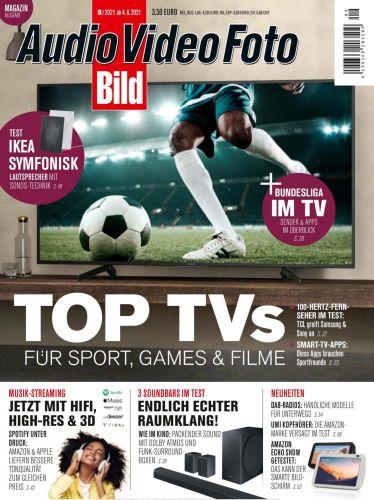 Cover: Audio Video Foto Bild Magazin No 09 September 2021