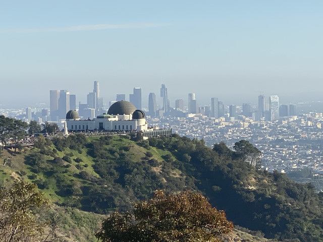 Day-hike-of-the-Griffith-Observatory