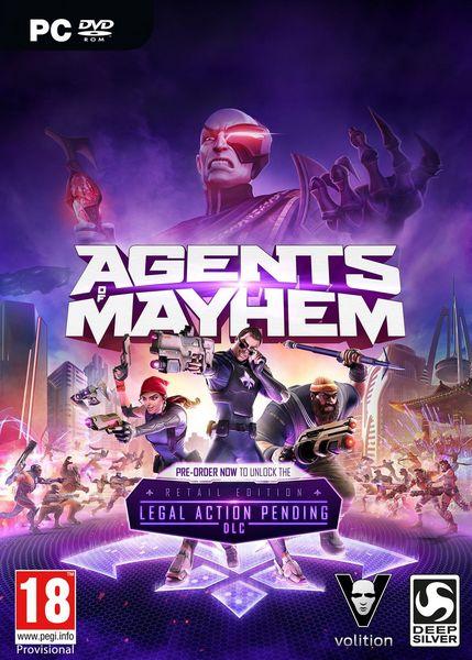 Agents of Mayhem (2017/RUS/ENG/RePack by xatab)