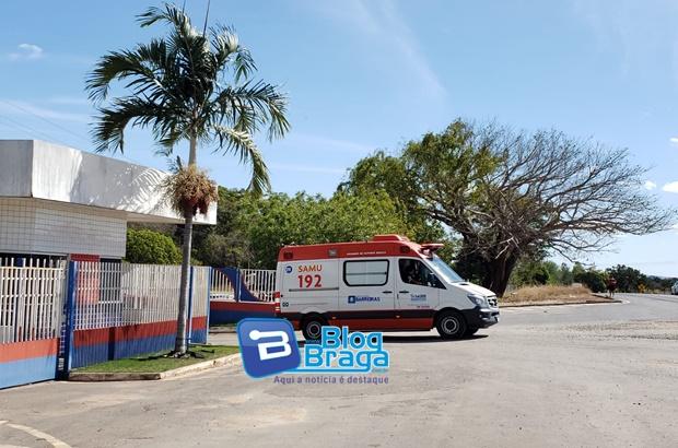 SAMU atende ocorrências de acidente de trabalho e de transito em Barreiras nesta sexta(06)