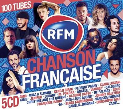 VA - RFM Chanson Francaise [5CD] (2021)