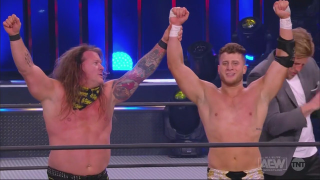 Chris Jericho y MJF vencieron a Top Flight