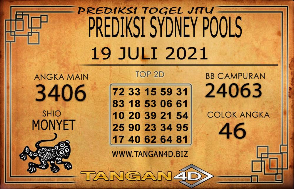 PREDIKSI TOGEL SYDNEY TANGAN4D 19 JULI 2021
