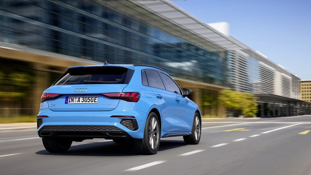 Conduisez jusqu'à 67 km en utilisant l'énergie électrique : La nouvelle Audi A3 Sportback 40 TFSI e A206519-medium