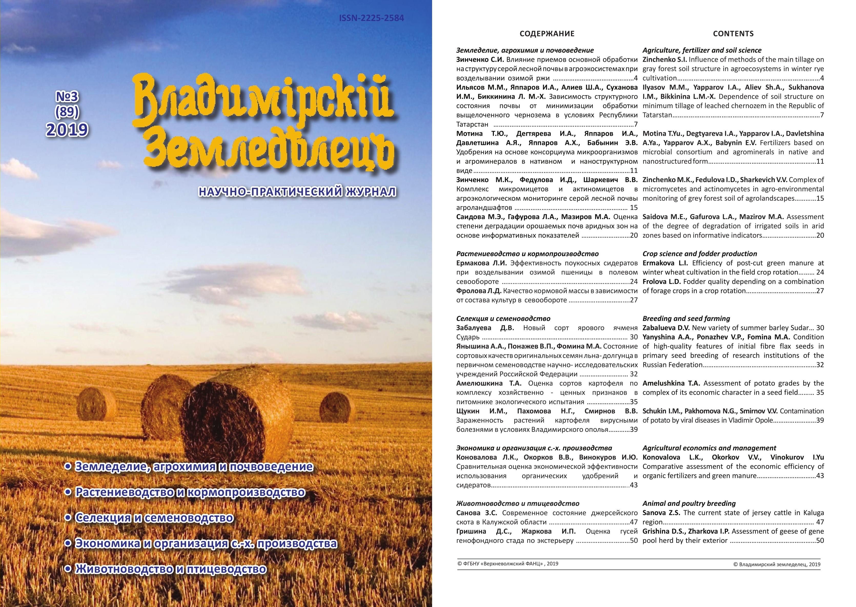 Владимирский земледелец 3(89) 2019