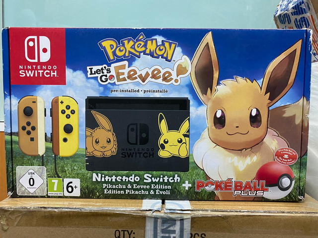 Les différents pack Switch EvoFR