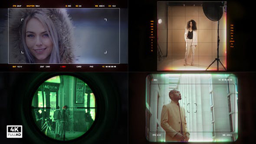 HUD Camera Viewfinder & Scope 28110426 - Project for After Effects (Videohive)
