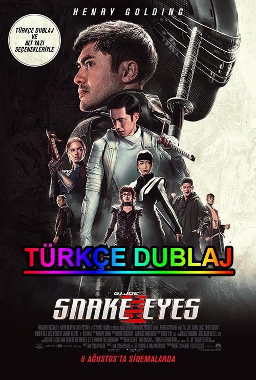 Snake Eyes: G.I. Joe Origins | 2021 | WEB-DL | XviD | Türkçe Dublaj | m720p - m1080p | WEB-DL | Tek Link