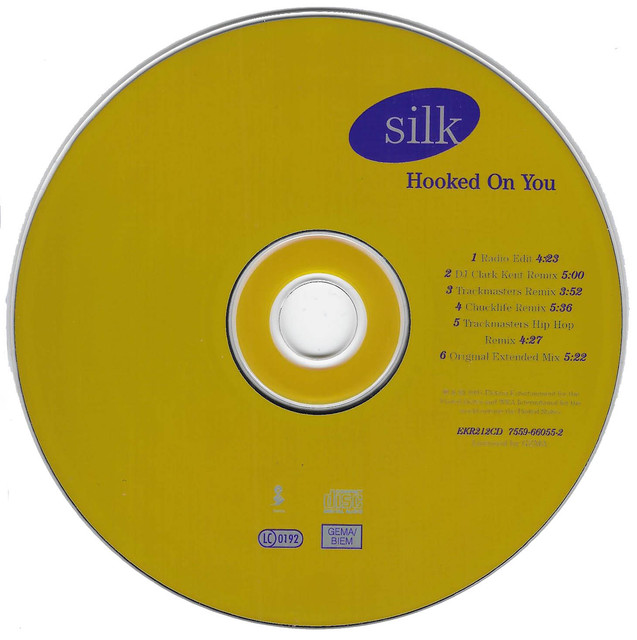 Silk-Hooked-On-You-CD
