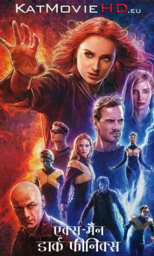 X-Men: Dark Phoenix (2019) BluRay DD5 1 Hindi + English