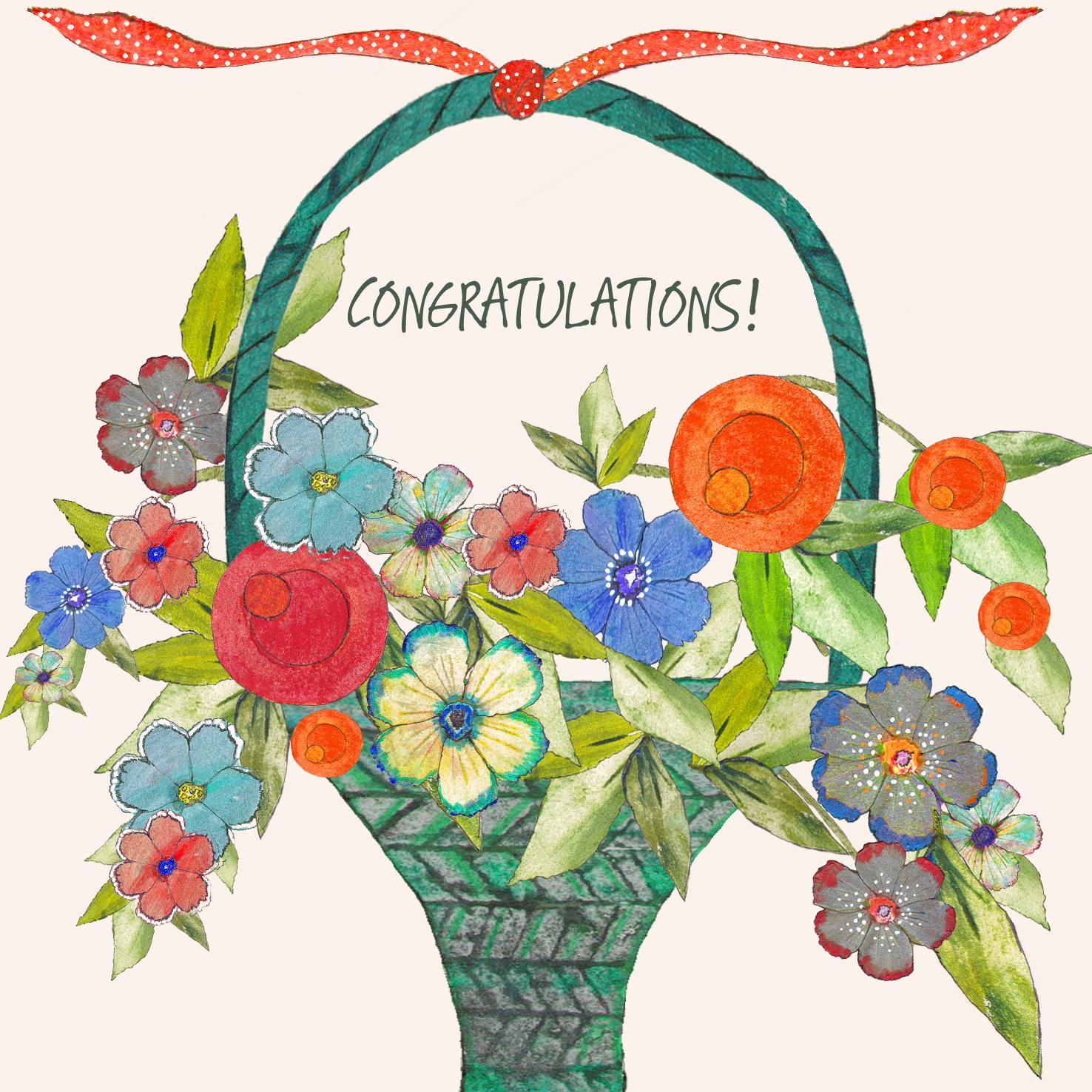 Resultado Final: Votación del Forista Popular del Mes de Marzo !!! 1952-Basket-of-Flowers-Congrats