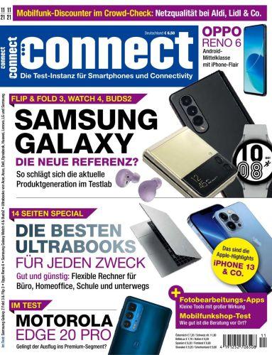Cover: Connect Magazin für Telekommunikation No 11 2021