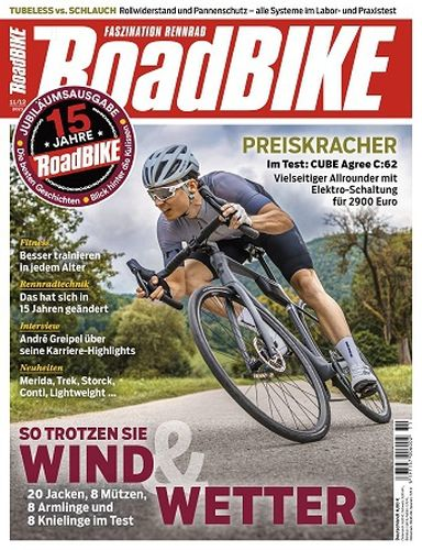 Cover: Roadbike Rennrad-Magazin November No 11 2021