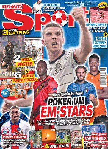 Cover: Bravo Sport Magazin No 08 2021