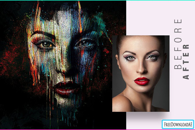 face-painting-photo-template-1160x772px28design-by-amorjesu292