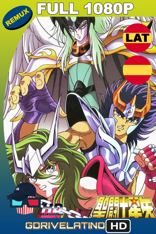 Saint Seiya: Los Caballeros del Zodiaco contra Lucifer (1989) BDRemux 1080p Latino-Castellano-Japonés MKV