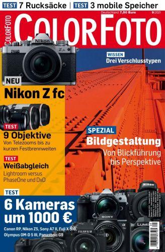 Cover: Colorfoto Magazin No 09 2021