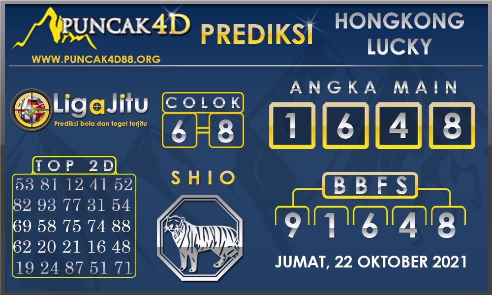 PREDIKSI TOGEL HONGKONG LUCKY 7 PUNCAK4D 22 OKTOBER 2021
