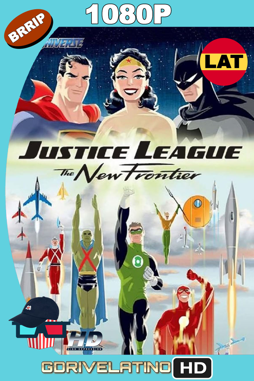 Liga de la Justicia: La Nueva Frontera (2008) BRRip 1080p Latino-Inglés MKV