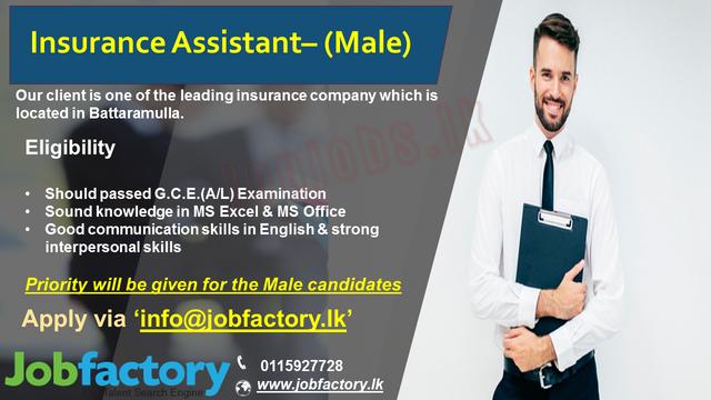 8534c-Insurance-Assistant-Battaramulla