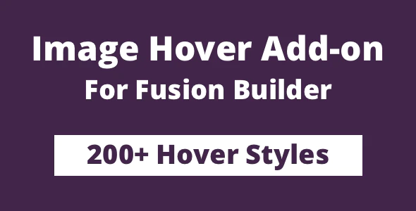 CodeCanyon - Image Hover Add-on for Fusion Builder and Avada v1.0 - 25297111