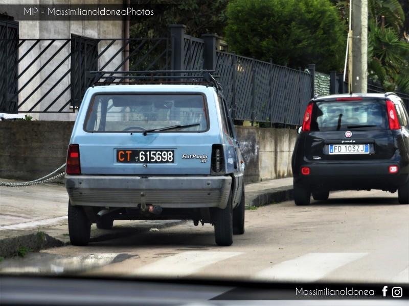 avvistamenti auto storiche - Pagina 15 Fiat-Panda-30-650-30cv-83-CT615698-2