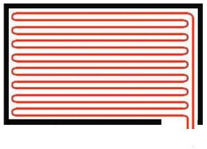 выкладка труб водяного теплого пола схема