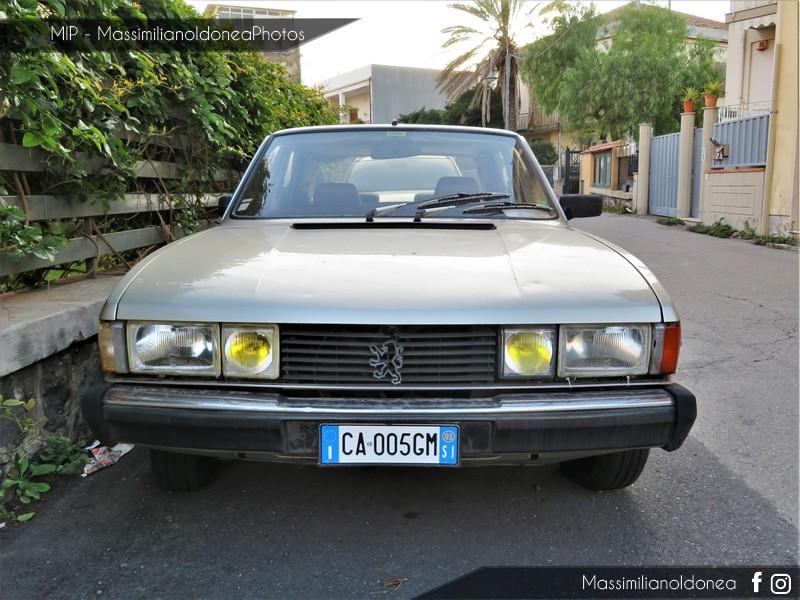 avvistamenti auto storiche - Pagina 11 Peugeot-604-STI-V6-Automatica-2-7-145cv-CA005-GM-159-176-6-9-2017-1