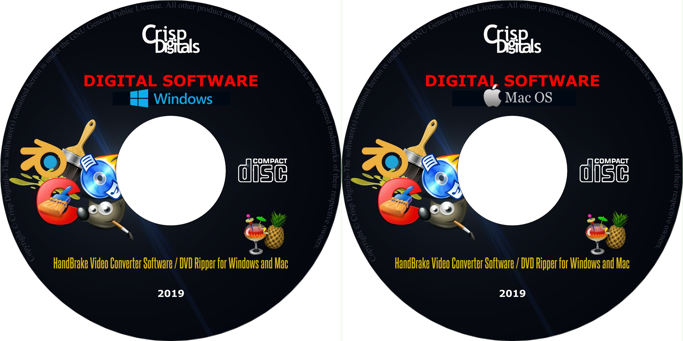 Details about ****NEW HandBrake 2019 Video Conversion/DVD Ripper Software  for Windows****