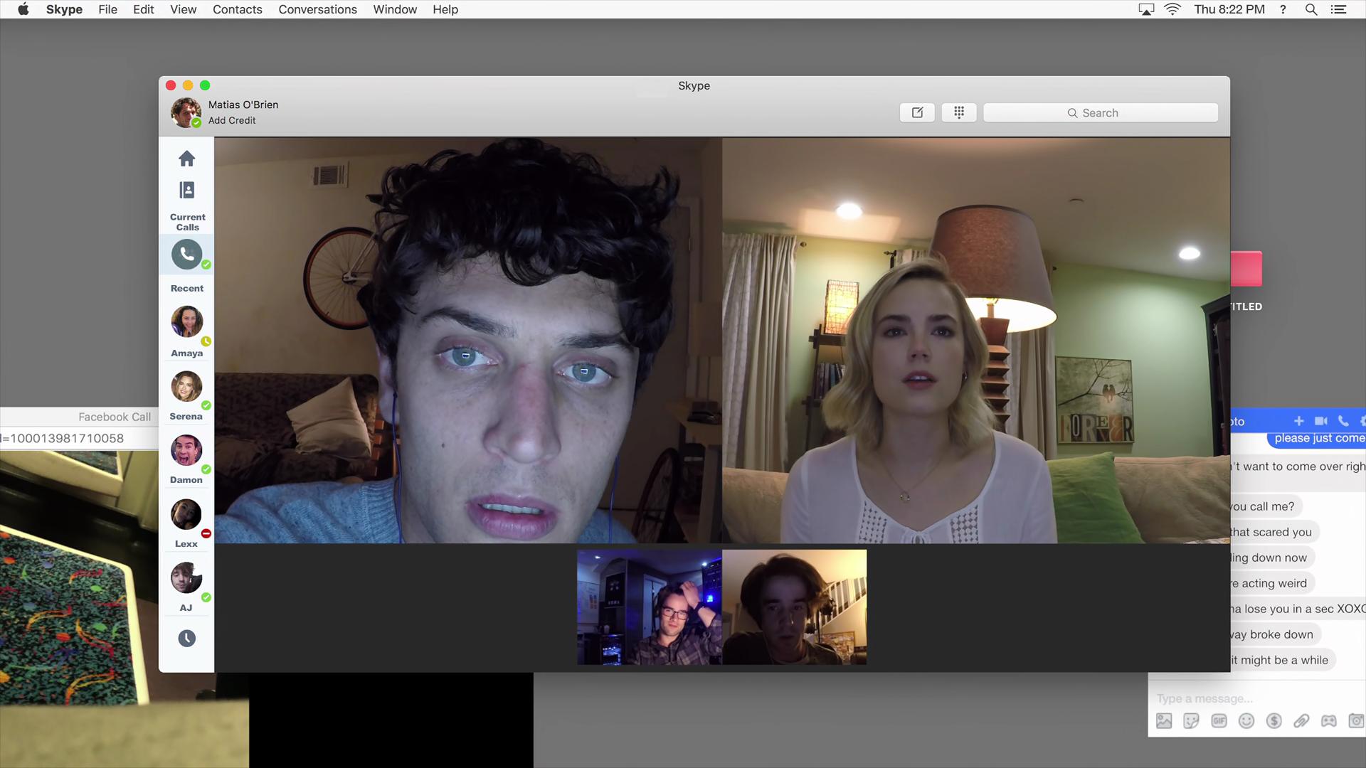 Unfriended Dark Web Screen Shot 2