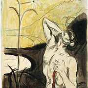 Edvard-Munch-the-flower-of-pain